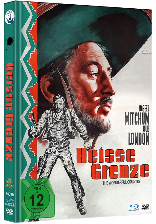 Heiße Grenze - Limited Mediabook Edition [Blu-ray+DVD]