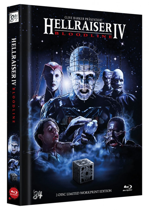 Hellraiser IV - Bloodline - Limited Collector's Edition - Cover D [Blu-ray+DVD]