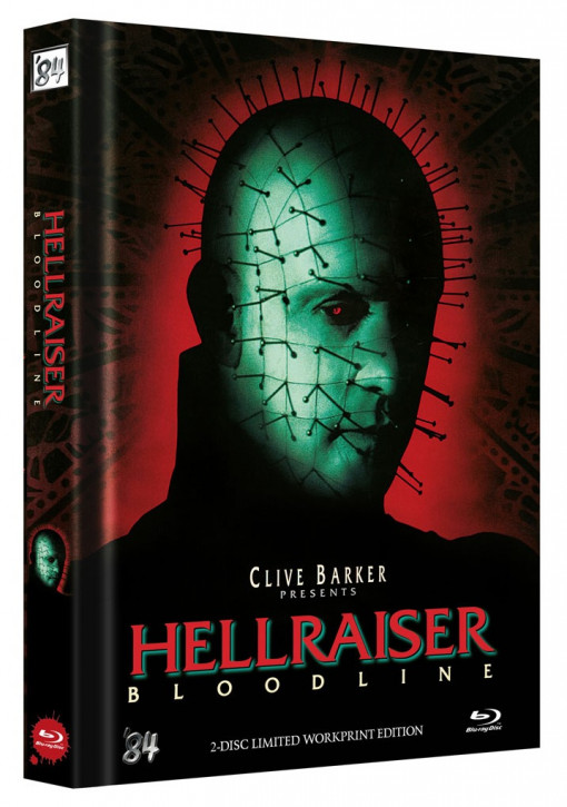 Hellraiser IV - Bloodline - Limited Collector's Edition - Cover E [Blu-ray+DVD]