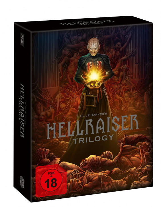 Hellraiser Trilogy - Deluxe Edition [Blu-ray]