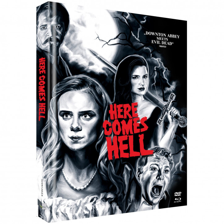 Here comes Hell - Limited Mediabook - Cover A [Blu-ray+DVD]