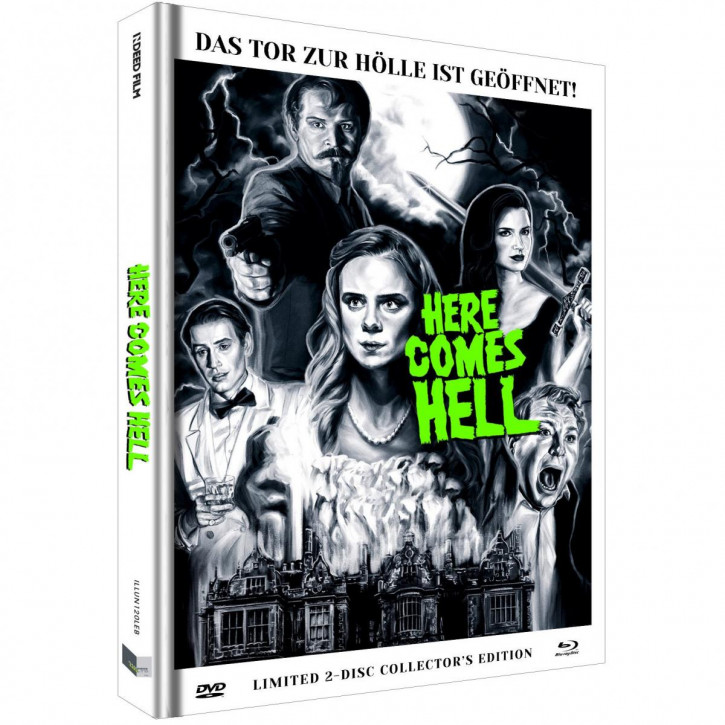 Here comes Hell - Limited Mediabook - Cover B [Blu-ray+DVD]