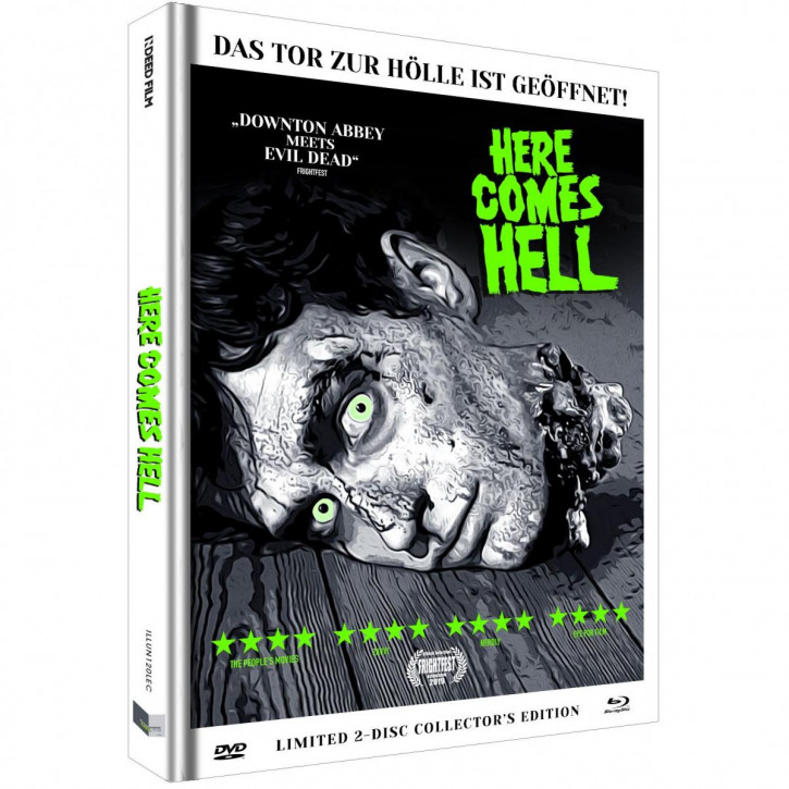 Here comes Hell - Limited Mediabook - Cover C [Blu-ray+DVD]