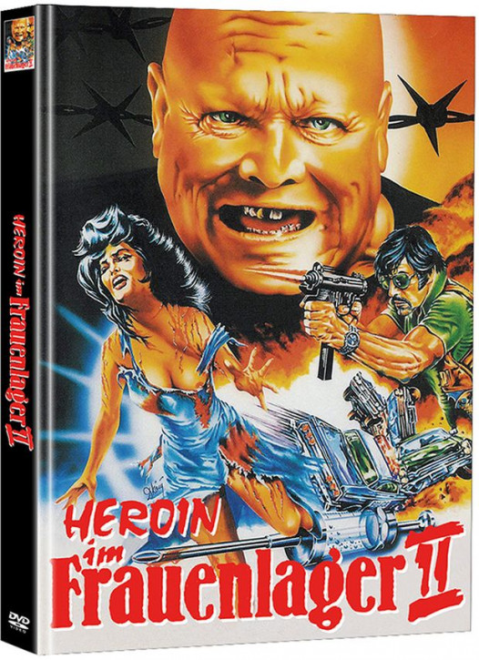 Heroin im Frauenlager II - Limited Mediabook Edition - Cover A [DVD]