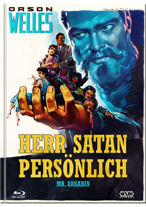 Herr Satan persönlich - Limited Mediabook Edition - Cover B [Blu-ray+DVD]