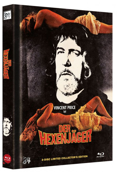 Der Hexenjäger - Limited Collector's Edition - Cover C [Blu-ray+DVD]