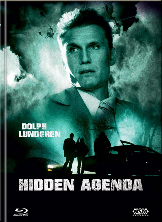 Hidden Agenda - Mediabook - Cover C [Blu-ray+DVD]