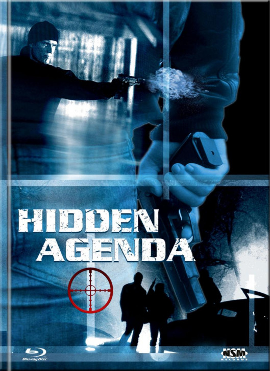 Hidden Agenda - Mediabook - Cover E [Blu-ray+DVD]