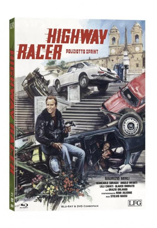 Highway Racer (Poliziotto Sprint) - Mediabook - Cover A [Blu-ray+DVD]
