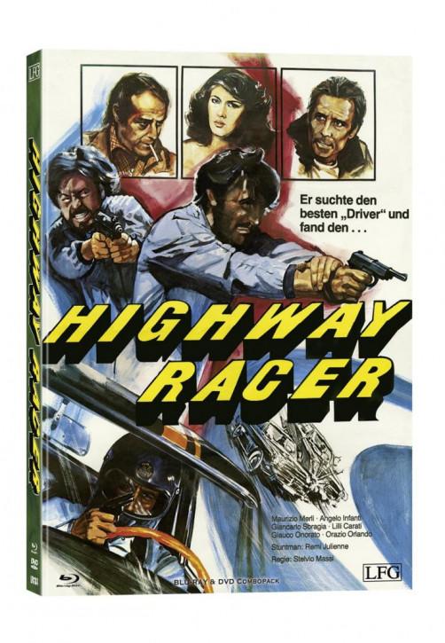 Highway Racer (Poliziotto Sprint) - Mediabook - Cover B [Blu-ray+DVD]