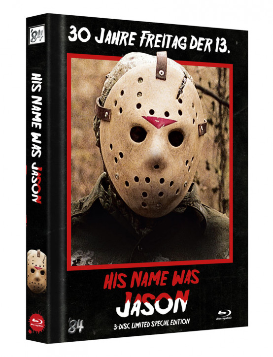 His Name was Jason - Limited Collectors Edition Mediabook - Cover B [Blu-ray]