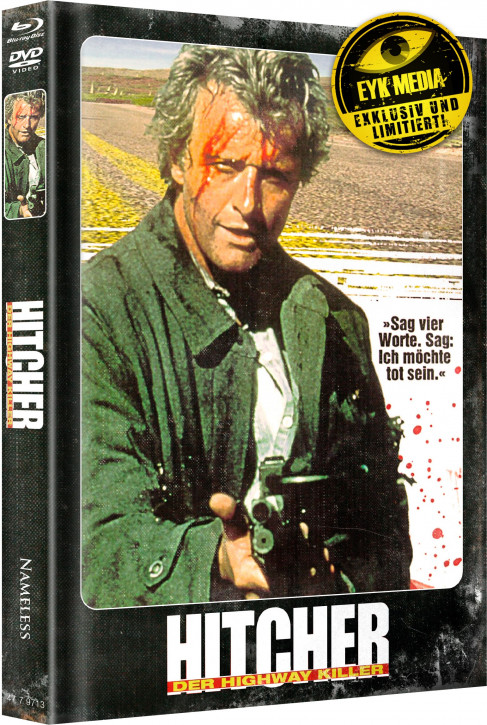 Hitcher - Limited Mediabook Edition - Cover F [Blu-ray+DVD]