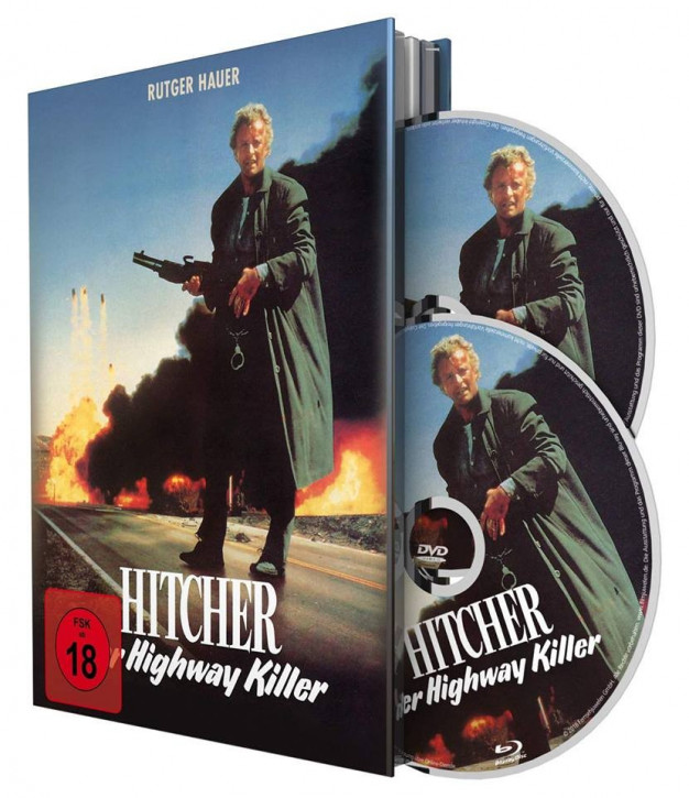 Hitcher, der Highway Killer - Limited Mediabook Special Edition [Blu-ray+DVD]