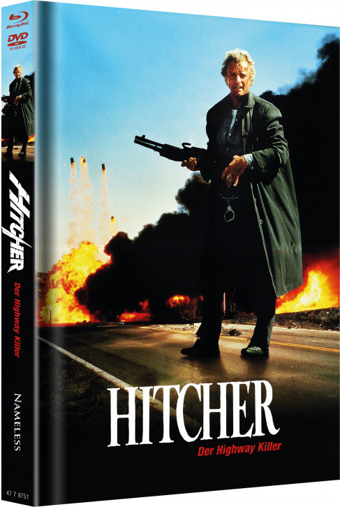 Hitcher - Limited Mediabook Edition - Cover C [Blu-ray+DVD]