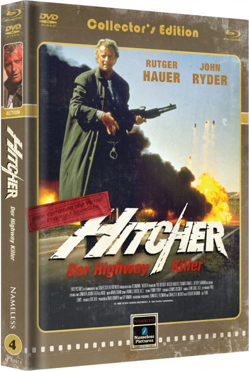 Hitcher - Limited Mediabook Edition - Cover D [Blu-ray+DVD]