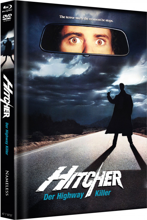 Hitcher - Limited Mediabook Edition - Cover B [Blu-ray+DVD]