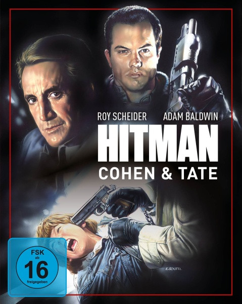 Hitman - Cohen & Tate - Limited Mediabook Edition - Cover A [Blu-ray+DVD]