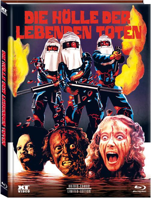 Die Hölle der lebenden Toten - Mediabook - Cover A [Blu-ray+DVD]