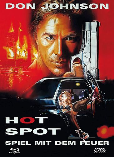 The Hot Spot - Limited Collector's Edition - Cover A [Bluray+DVD]