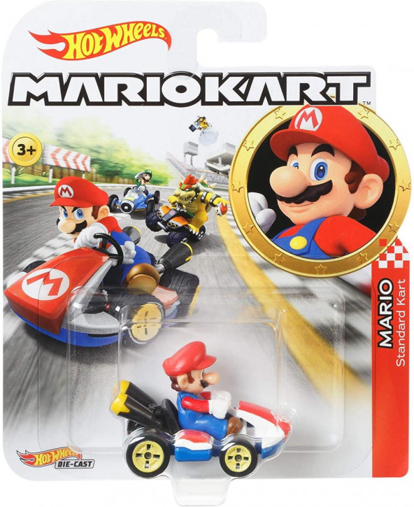 Hot Wheels GBG26 - Mario Kart - Mario