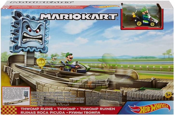 Hot Wheels GFY46 - Mario Kart Thwomp Ruinen Trackset