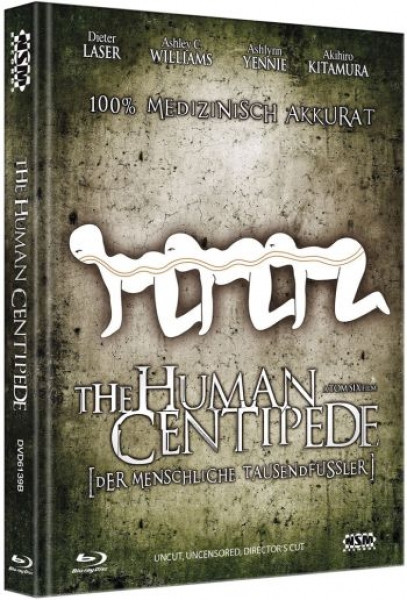 Human Centipede - Limited Collector's Edition - Cover B [Blu-ray+DVD]