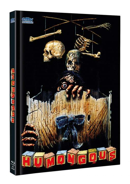 Humongous - Limited Mediabook - Cover A [Blu-ray+DVD]