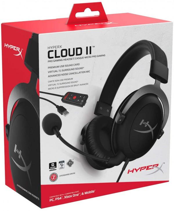 HyperX Cloud II - Gaming Kopfhörer