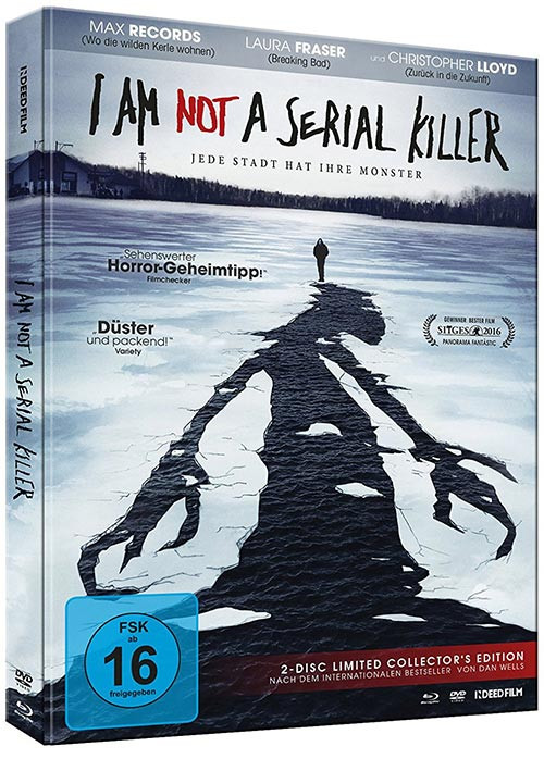 I Am Not A Serial Killer - Limited Collector's Edition [Bluray+DVD]