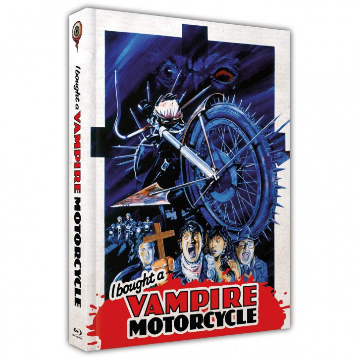 I bought a Vampire Motorcycle - Limited Collectors Edition Mediabook - Cover A [Blu-ray+DVD]