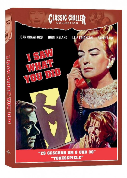I Saw what you did (Es geschah um 8 Uhr 30) - Classic Chiller Collection [Blu-ray]