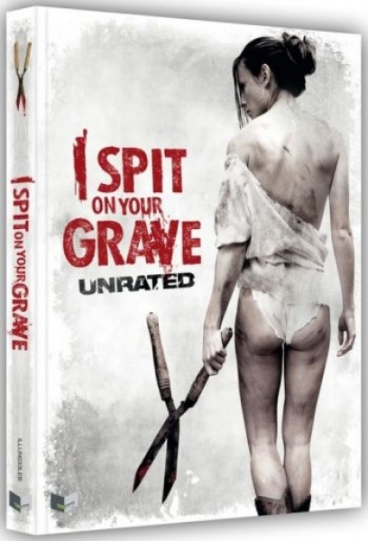 I spit on Your Grave (2010) - Limited Collectors Edition- Cover B [Blu-ray+DVD]