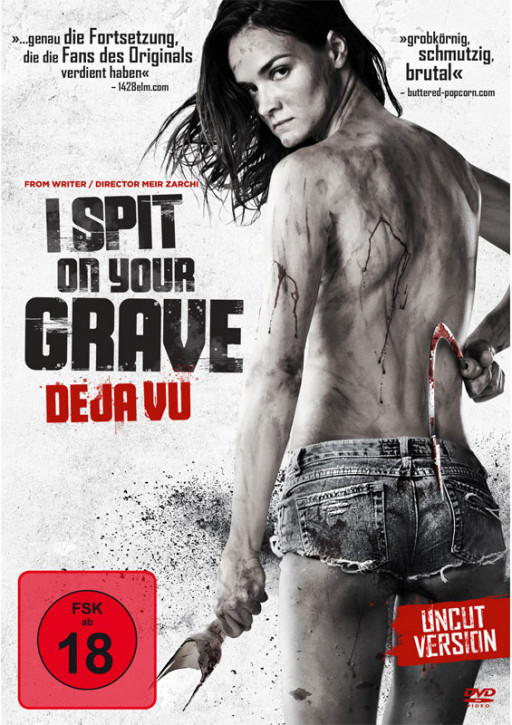 I Spit on your Grave Deja vu [DVD]