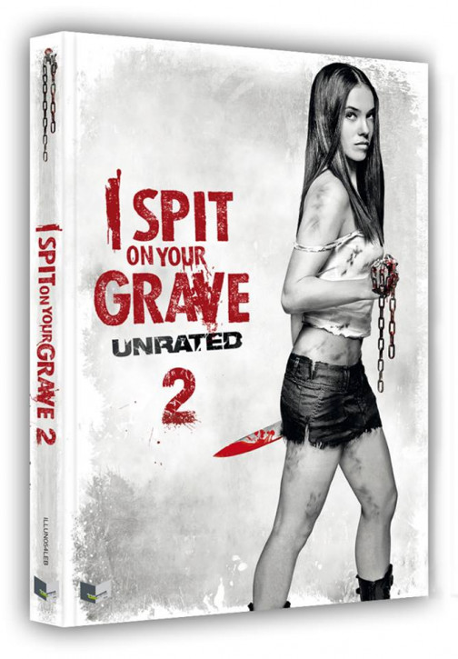 I spit on Your Grave 2 - Limited Collectors Edition- Cover B [Blu-ray+DVD]
