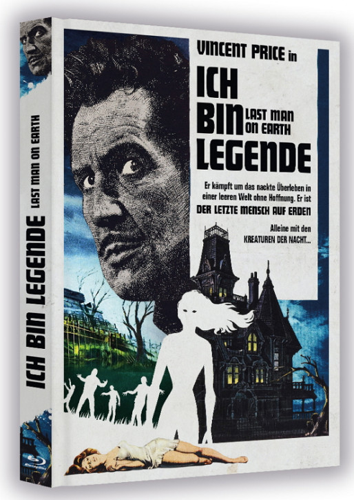 Ich bin Legende - The Last Man On Earth - Limited Collector's Edition [Bluray+DVD]