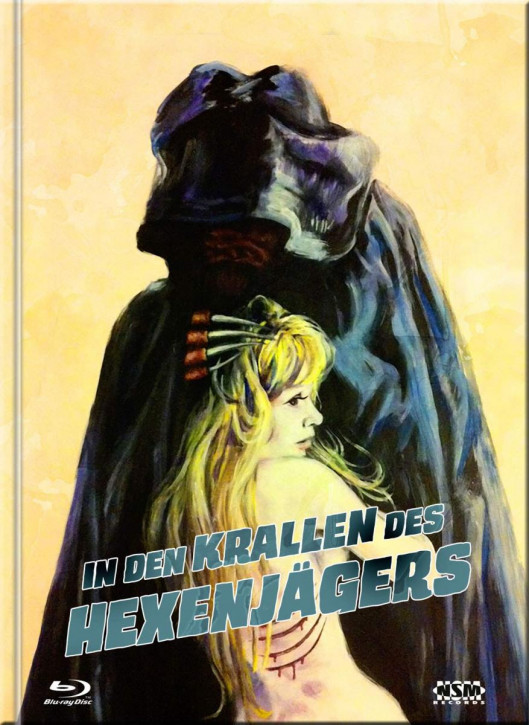 In den Krallen des Hexenjägers - Mediabook - Cover E [4K UHD+Blu-Ray+DVD]