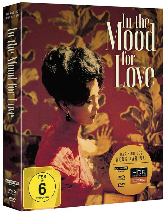 In the Mood for Love (Wong Kar Wai) - Special Edition [4K UHD+Blu-ray+DVD]