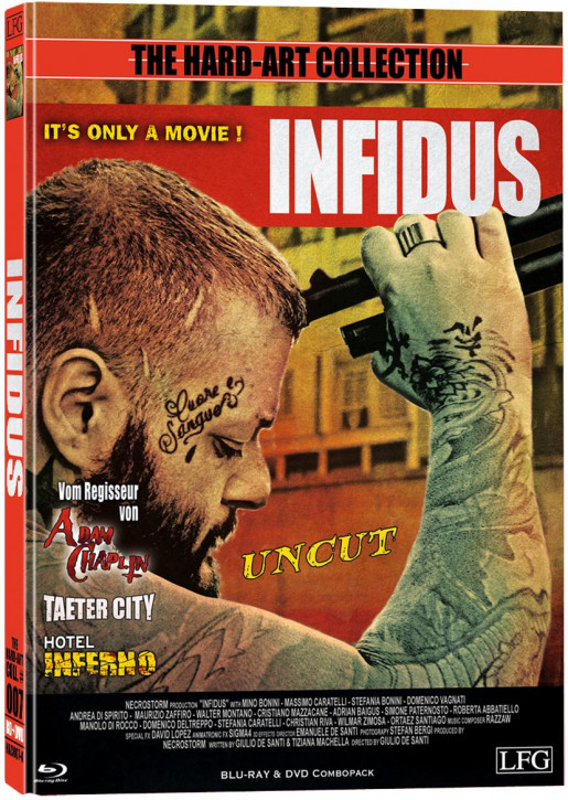 Infidus - Hart-Art Collection - Cover A [Blu-ray+DVD]