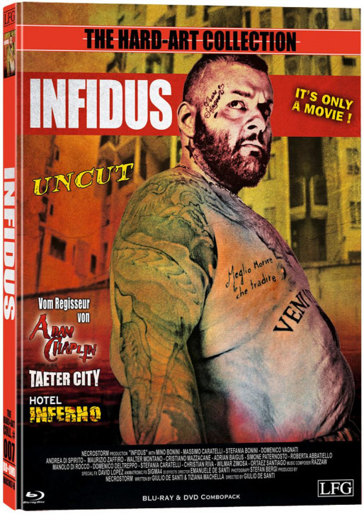 Infidus - Hart-Art Collection - Cover B [Blu-ray+DVD]