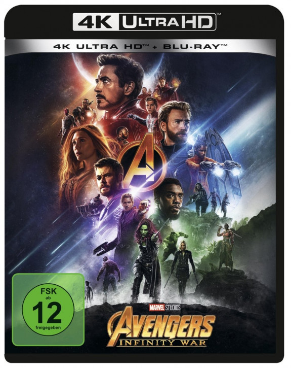 Avengers: Infinity War [4K UHD+Blu-ray]