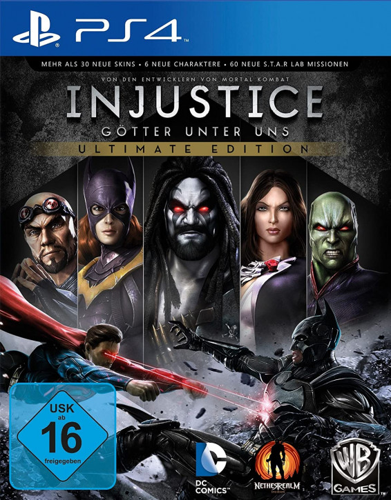 Injustice - Ultimate Edition [PS4]