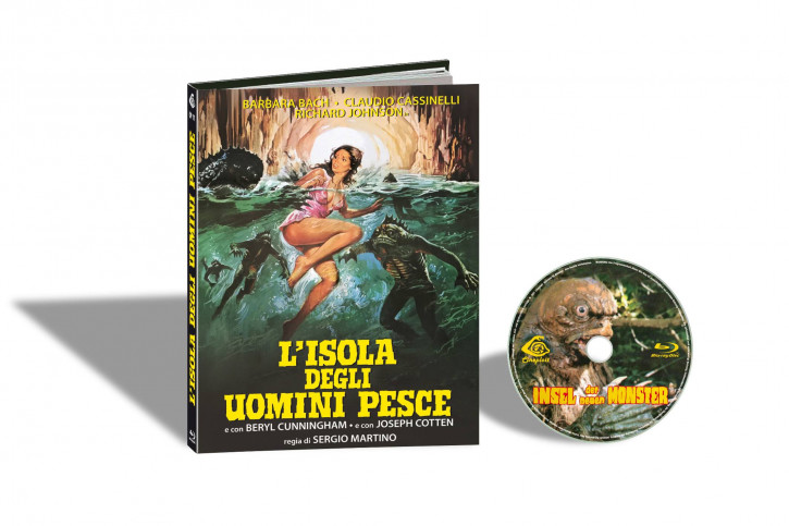 Insel der neuen Monster - Limited Mediabook Edition - Cover C [Blu-ray]