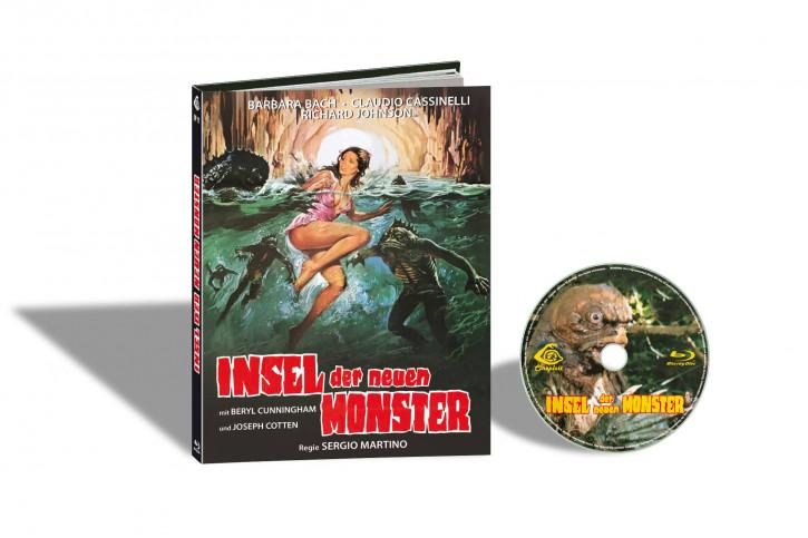 Insel der neuen Monster - Limited Mediabook Edition - Cover E [Blu-ray]