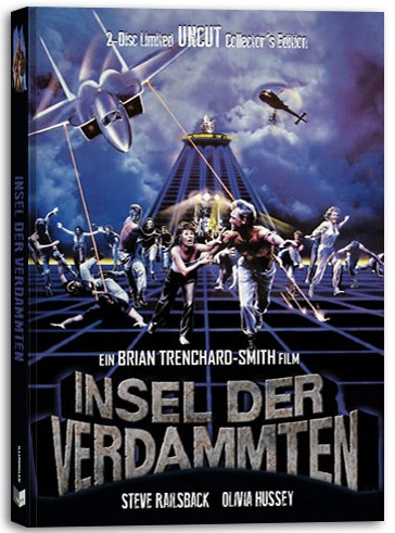 Insel der Verdammten - Limited Collectors Edition - Cover B [Blu-ray+DVD]
