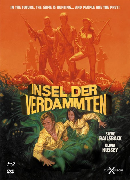 Insel der Verdammten - Limited Collectors Edition - Class-X-Illusions #6 [Blu-ray+DVD]