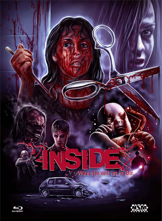 Inside - Limited Collector's Edition - Cover E [Blu-ray+DVD]
