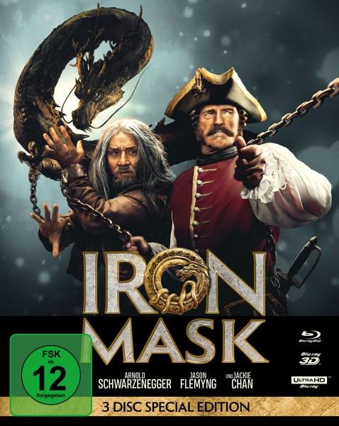 Iron Mask - Mediabook [4K UHD+3D+Blu-ray]