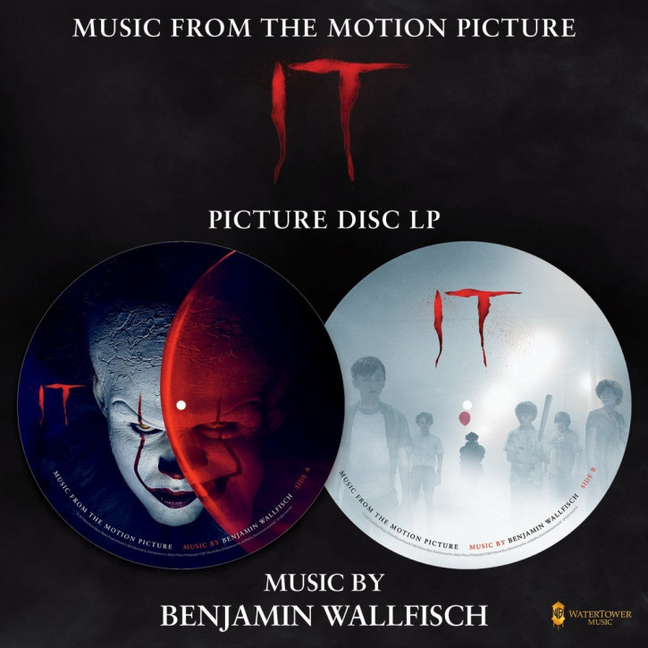 It (Original Motion Picture Soundtrack) - Picture Disc LP - Ost, Benjamin Wallfisch [Vinyl LP]