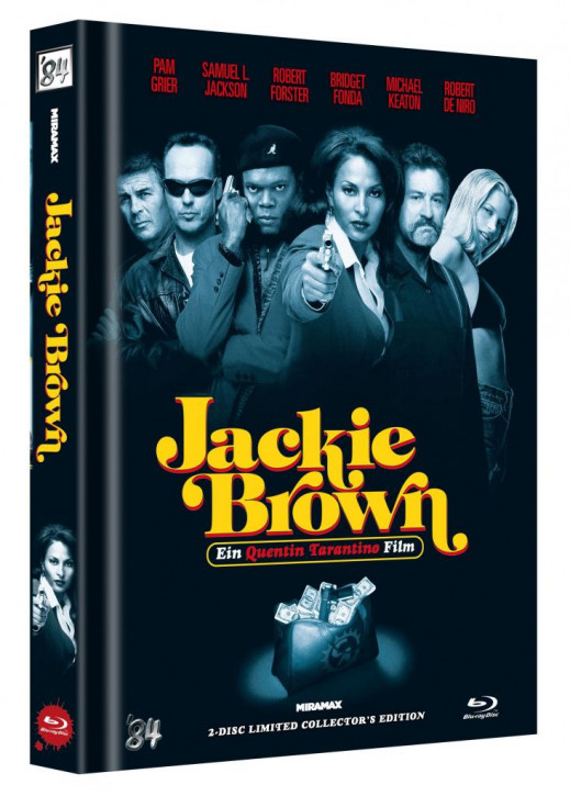 Jackie Brown - Limited Collector's Edition - Cover C [Blu-ray+DVD]