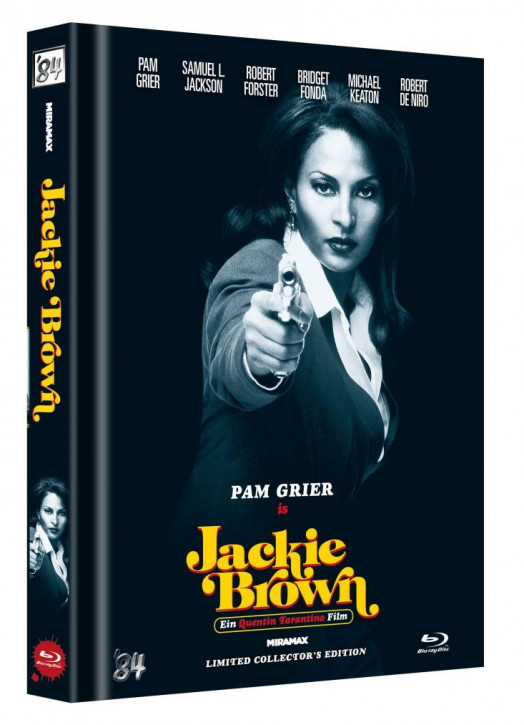 Jackie Brown - Limited Collector's Edition - Cover D [Blu-ray]